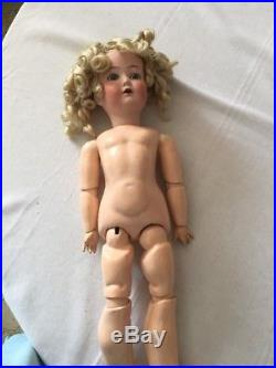 ANTIQUE German Cuno & Otto Dressel 1912 4 Bisque 2p2 Doll Jointed Composition