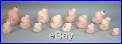 ATTN DEALERS & ARTISTS! Must See Attic Find 29 Bisque Antique Doll Heads AS IS