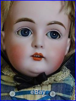AWESOME Antique Late 1800's Bisque KESNER Doll Germany 20 ALL ORIGINAL
