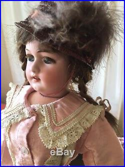 Antique 1159 Simon Halbig doll with French Jumeau adult body ORIGINAL
