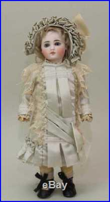 Antique 12 1/2 German 117 EARLY BELTON STYLE ANTIQUE BISQUE Doll Perfect
