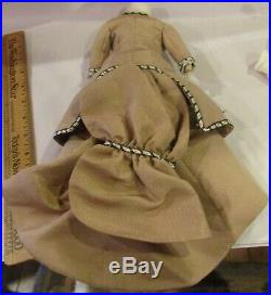 Antique 12 French Fashion Probably Jumeau Doll withGreat Outfit, Poupee Peau