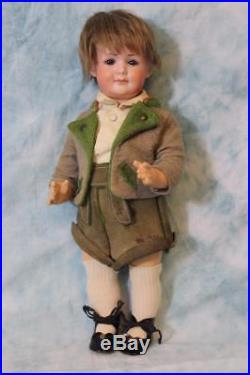 Antique 12 German Bisque Armand Marseille Character 550 Doll c. 1920s Great Face