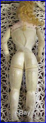 Antique 13 C1875 Size 1 French Bisque Fashion Poupee Peau by Gaultier withOutfit