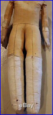 Antique 13 German Bisque RARE Simon Halbig Closed Mouth 740 Doll