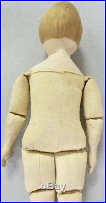 Antique 13 RARE Cloth Authentic All Orig American Maggie Bessie Doll REDUCED
