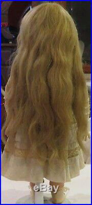 Antique 14 French Bisque Bebe Figure A Steiner withOriginal Outfit & HH Wig