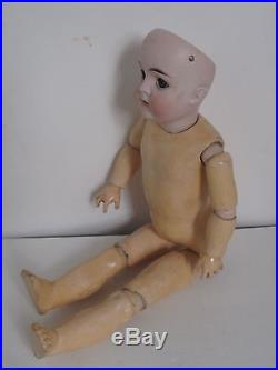 Antique 15 Karl Hartman German Bisque Doll Jointed Comp Body