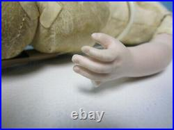 Antique 16 French Fashion Doll w Bisque Arms As IS 4 U 2 Dress