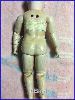 Antique 17Jules Steiner Bisque Doll With Voice Box And Lever Eyes Circa 1889