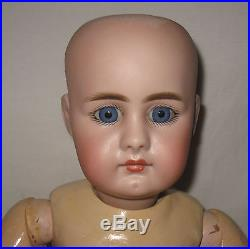 Antique 18 Simon & Halbig Closed Mouth Bisque Socket Head Doll #949 MZ50