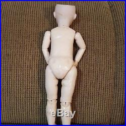Antique 19 French Bisque Bebe, SFBJ 60 Doll withOrig Body