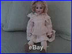 Antique 20 Bebe Jumeau French Bisque Doll with Voice Box 1907