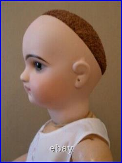 Antique 20French Jumeau closed mouth Emile Douillet doll, original body
