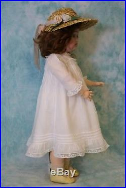 Antique 22 Inch 421 Germany Max Handwerck German Bisque Doll Signed Body