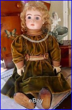 Antique 23 French Bisque Fig A Steiner Bebe Perfect, Great Doll, MAKE OFFER