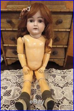 Antique 23 German Bisque Kestner 129 Doll withGorgeous Outfit