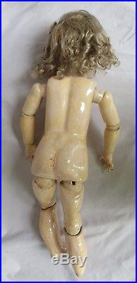 Antique 23 Handwerck Bisque Doll Ball Jointed Body Germany Socket Repair