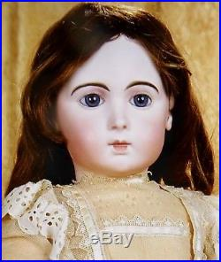 Antique 30 French Bisque RARE Jumeau Long Faced Triste Bebe, FINE Doll