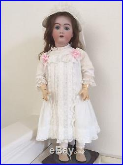 Antique 30 Handwerck Bisque Head Ball Jointed Doll
