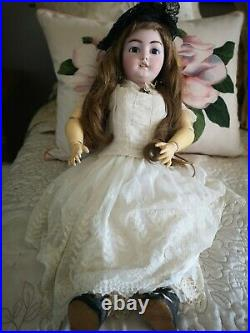 Antique 30 Simon & Halbig Dep, 1079 bisque child doll, stunning and special