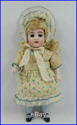 Antique 8.25 All Bisque 150 Kestner German Doll Nice With Bleuette Jumeau Bear
