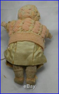 Antique A. M Armand Marseille Dream Baby Bisque Doll Germany Clothes 6½