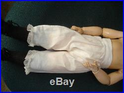 Antique AM Rare German Bisque 18 Louis Amberg Baby Peggy Doll