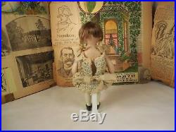 Antique All Bisque Doll Hard to Find Orsini Character Doll