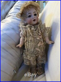 Antique All Orig 10 German Bisque Toddler Baby Character Simon Halbig 126 KR
