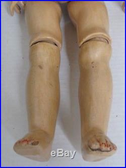 Antique Armand Marseille Bisque 22 Doll Jointed Composition Body