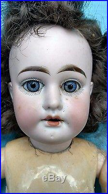 Antique Armand Marseille Germany 17 Bisque Doll 1894 AM 3DEP Nice Condition