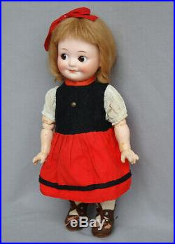 Antique Armand Marseille googly doll 323 side glancing eyes larger size 10.4