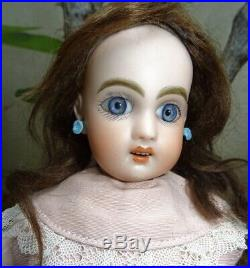 Antique Beautiful Bleuette First Jumeau Size 1 Perfect Condition (10,63 Inches)