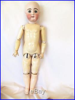 Antique Beautiful Rare Square Tooth Kestner XII Bisque & Compo. Doll, 24