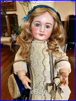 Antique Bisque French Doll UNIS France (Jumeau mark)