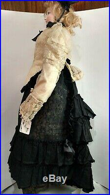 Antique Bisque French Poupee 28 Unmarked Perfect Bisque