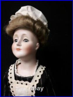 Antique Bisque Gibson Girl Doll by the German J. D. Kestner Company