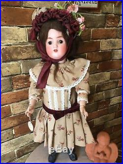 Antique Bisque Head Doll Abg 1362 Sweet Nell
