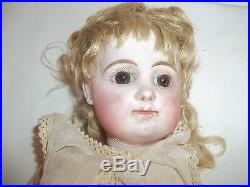 Antique Bisque Head DollComposition/Wood Ball Jointed BodyMarked R. O. D