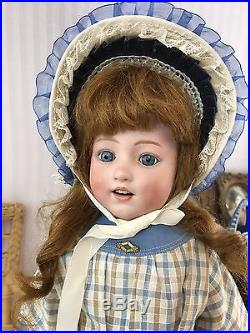 Antique Bisque Head German Doll Dolly Dimple! G Heubach