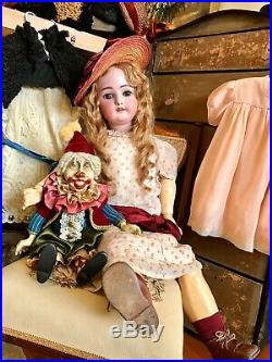 Antique Bisque Huge (36) Doll By Simon Halbig