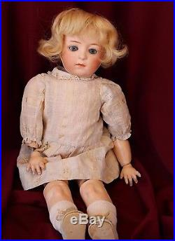 Antique Bisque head doll Dressel, Cuno & Otto red stamp jointed toddler 7241