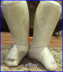 Antique C1880 23 Original French Bebe Bru Doll Body withBisque Hands