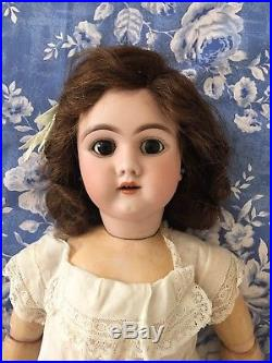 Antique DEP French market Bisque Doll Germany 109 12
