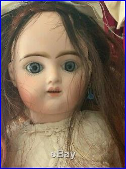 Antique Doll French Bisque doll 1885 Pintel Godchaux perfect head