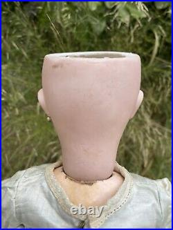 Antique Doll Sfbj Size 9 Bisque Head Open Mouth 50 Cm Tall