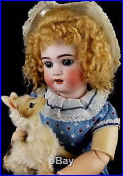 Antique Doll Simon Halbig 1078 Bisque Socket Head Fully Jointed Comp Body 22