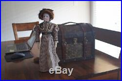 Antique FG Francois Gaultier No. 4 French Fashion Socket Bisque Head Doll 16