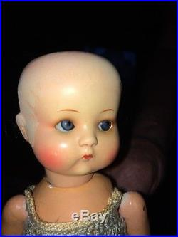 Antique Fired Bisque 9 Just Me Armand Marseille Doll All Original Beautiful